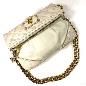 Women Marc Jacobs quilted convertible chain purse